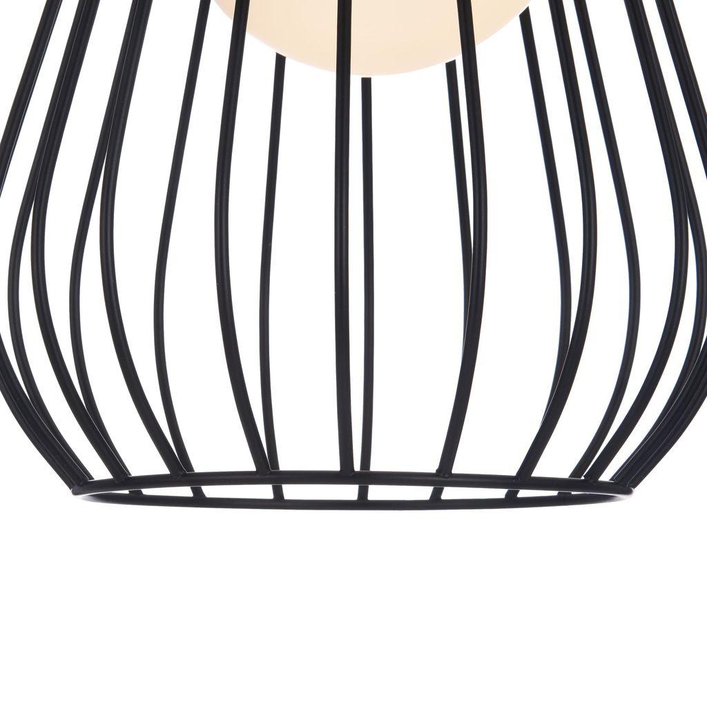 Подвесной светильник Maytoni Indiana MOD544PL-01B, 1xG9x28W, коричневый, матовое золото, черный, белый, кожа/кожзам, металл, стекло - фото 9