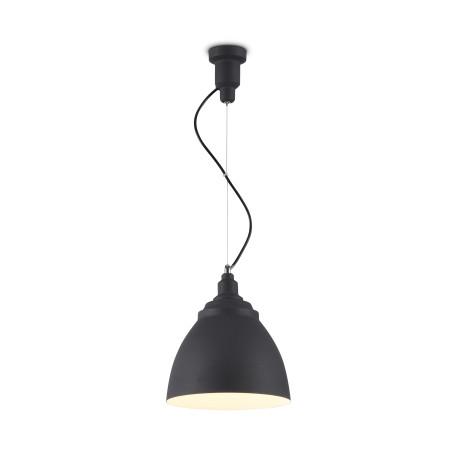 Подвесной светильник Maytoni Bellevue P534PL-01B, 1xE27x60W, черный, металл
