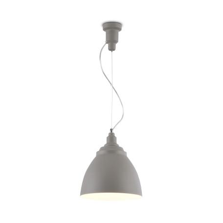 Подвесной светильник Maytoni Bellevue P534PL-01GR, 1xE27x60W, серый, металл