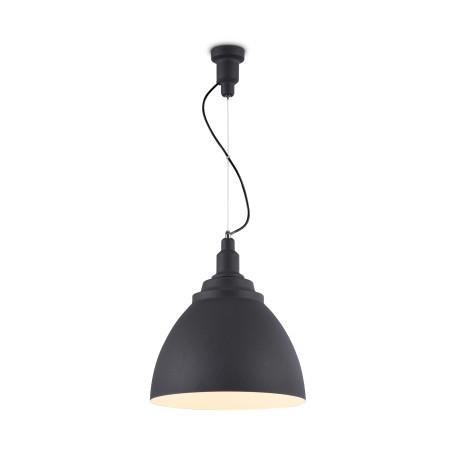 Подвесной светильник Maytoni Bellevue P535PL-01B, 1xE27x60W, черный, металл