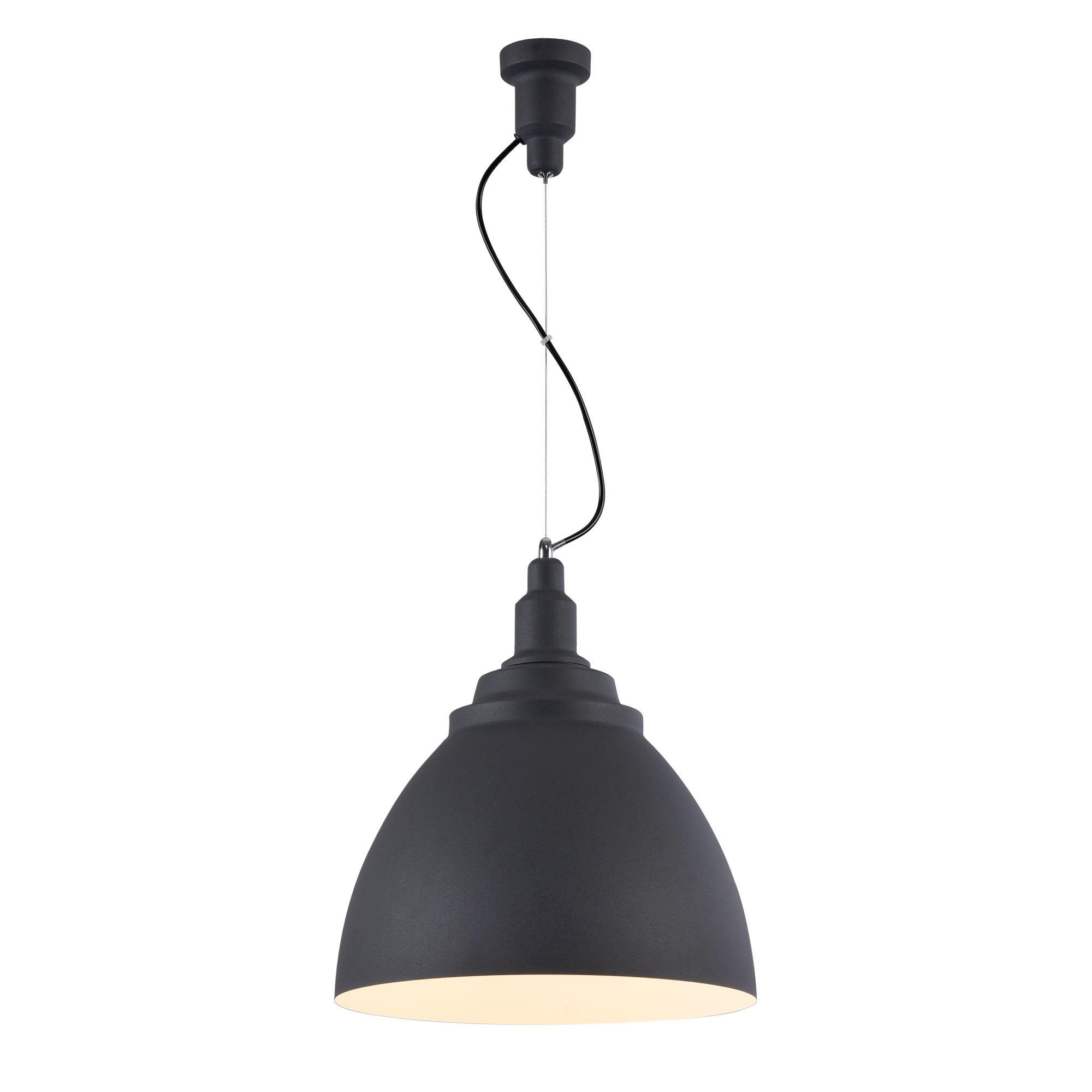 Подвесной светильник Maytoni Bellevue P535PL-01B, 1xE27x60W, черный, металл - фото 2