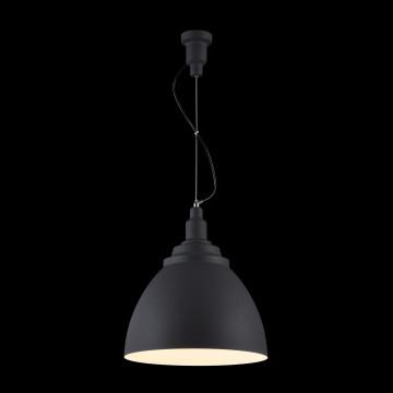 Подвесной светильник Maytoni Bellevue P535PL-01B, 1xE27x60W, черный, металл - миниатюра 4
