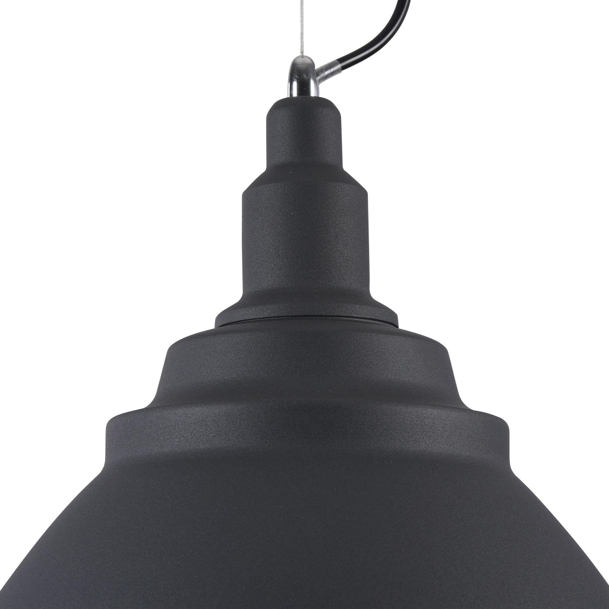 Подвесной светильник Maytoni Bellevue P535PL-01B, 1xE27x60W, черный, металл - фото 6