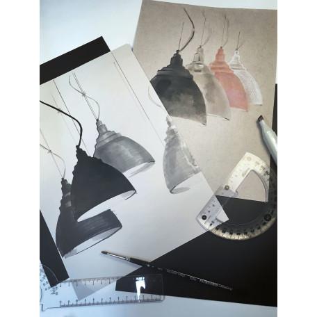 Подвесной светильник Maytoni Bellevue P535PL-01B, 1xE27x60W, черный, металл - миниатюра 7