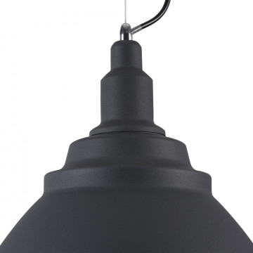 Подвесной светильник Maytoni Bellevue P535PL-01B, 1xE27x60W, черный, металл - миниатюра 9