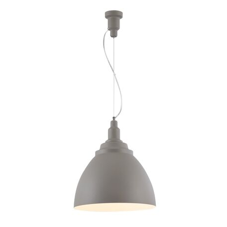 Подвесной светильник Maytoni Bellevue P535PL-01GR, 1xE27x60W, серый, металл