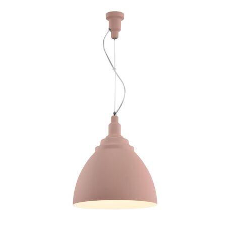 Подвесной светильник Maytoni Bellevue P535PL-01PN, 1xE27x60W, розовый, металл