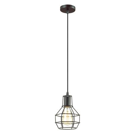 Подвесной светильник Lumion Lofti Harald 3637/1, 1xE27x60W, черный, металл