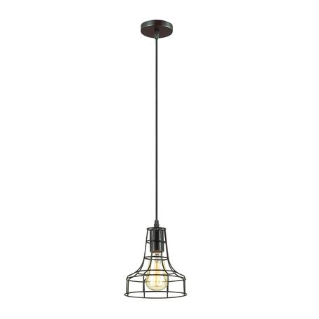 Подвесной светильник Lumion Lofti Alfred 3639/1, 1xE27x60W, черный, металл