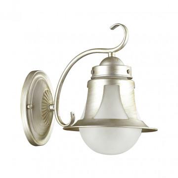 Бра Lumion Arteana 3603/1W, 1xE27x60W, серебро, белый, металл, стекло - миниатюра 2