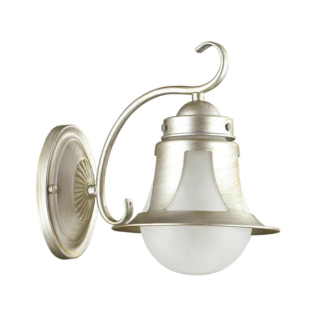 Бра Lumion Arteana 3603/1W, 1xE27x60W, серебро, белый, металл, стекло - фото 2