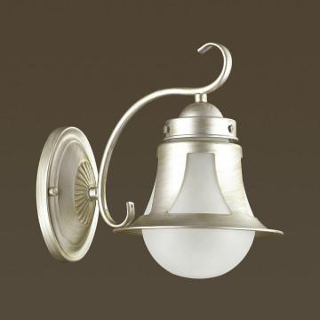 Бра Lumion Arteana 3603/1W, 1xE27x60W, серебро, белый, металл, стекло - миниатюра 4