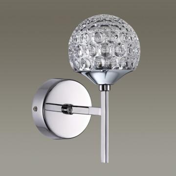 Светодиодное бра Lumion Bolles 3622/6WL, LED 6W, 4000K (дневной), хром, металл, пластик - миниатюра 4