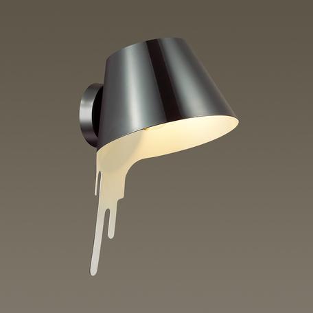 Настенный светильник Odeon Light Maestro 3979/1W, 1xE27x60W, черный, металл