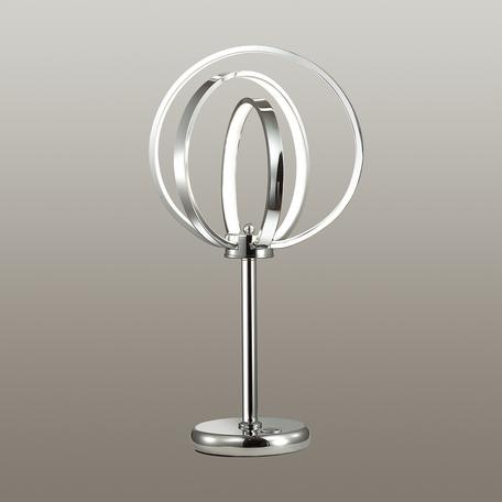 Настольная светодиодная лампа Odeon Light Alfi 4024/46TL, LED 46,8W, 4000K (дневной), хром, металл, пластик