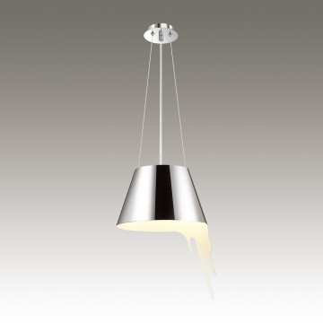 Подвесной светильник Odeon Light Maestro 3977/1, 1xE27x60W, хром, металл