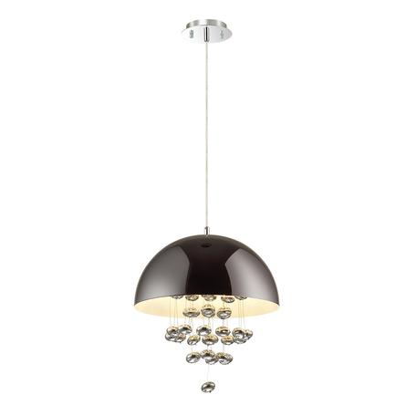 Подвесной светильник Odeon Light Nube 3981/4, 4xE14x40W, хром, металл, стекло