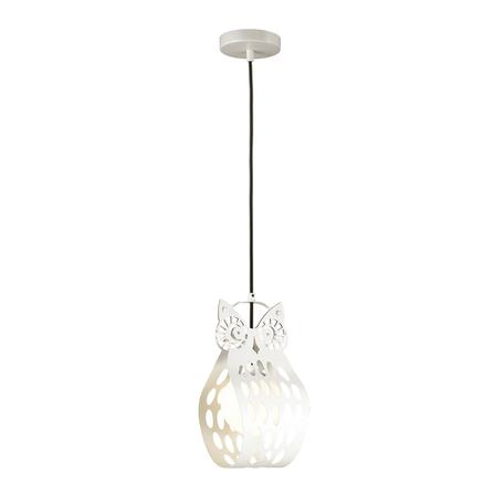 Подвесной светильник Odeon Light Ulvin 4006/1, 1xE27x60W, белый, металл