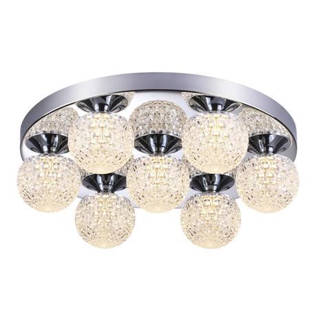 Потолочная светодиодная люстра Lumion Bolles 3622/42CL, LED 42W, 4000K (дневной), хром, металл, пластик