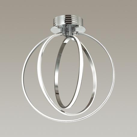 Потолочный светодиодный светильник Odeon Light Alfi 4024/66CL, LED 66W, 4000K (дневной), хром, металл, пластик