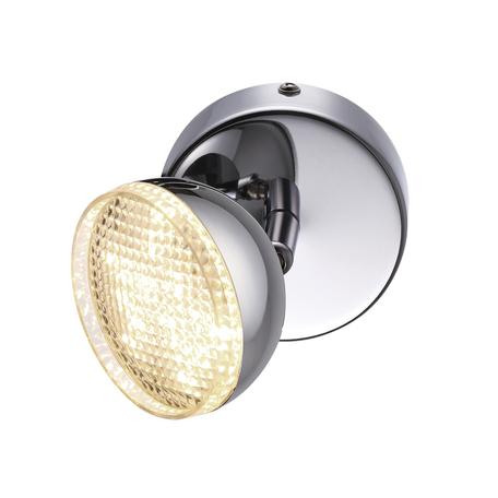 Потолочный светодиодный светильник с регулировкой направления света Lumion LEDio Farobianco 3623/6WL, LED 6W 4000K 480lm, хром, металл, пластик