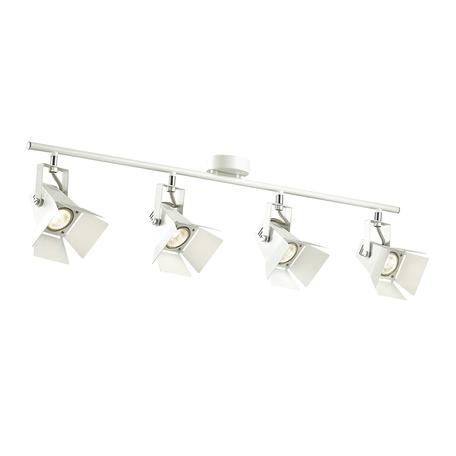Потолочный светильник с регулировкой направления света Odeon Light Techno Pro 3631/4C, 4xGU10x50W, белый, металл