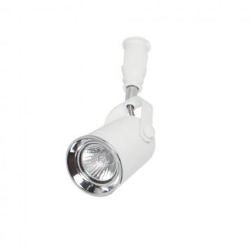 Светильник для гибкой системы Odeon Light Flexi White 3628/1, 1xGU10x50W, белый, хром, металл