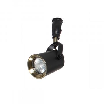 Светильник для гибкой системы Odeon Light Flexi Black 3629/1, 1xGU10x50W, черный, бронза, металл