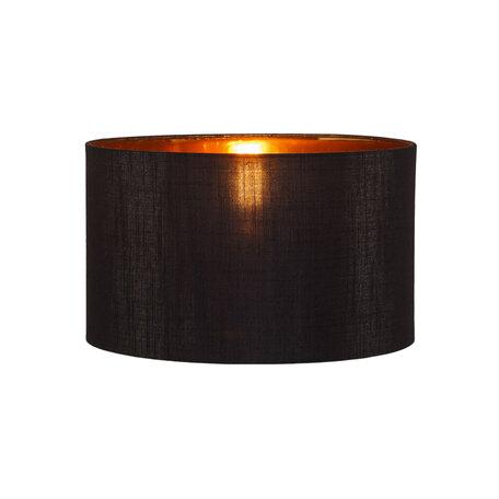 Абажур Loft It Nordic LOFT1700-SBK, черный с золотом, текстиль