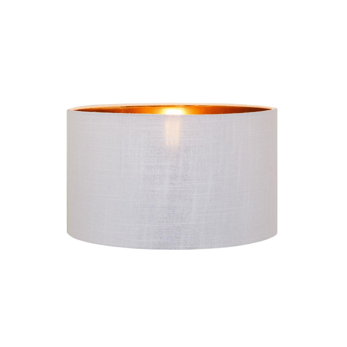 Абажур Loft It Nordic LOFT1700-SWH, белый с золотом, текстиль - фото 1