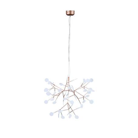 Подвесная светодиодная люстра Loft It Heracleum 9022-45, LED 13,5W, медь, белый, металл, пластик