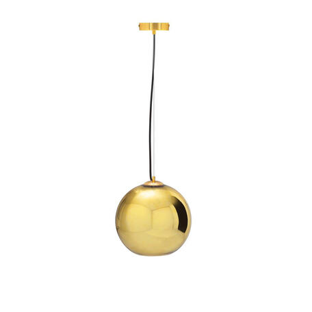 Подвесной светильник Loft It Copper Shade LOFT2024-A, 1xE27x60W, серый, золото, металл, стекло