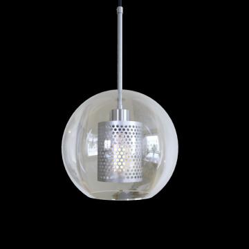 Подвесной светильник Loft It Hexagon LOFT2567-B, 1xE27x60W, никель, никель с прозрачным, металл, стекло с металлом - миниатюра 5