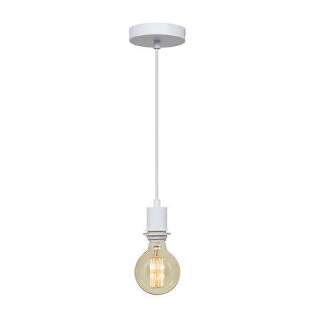 Подвесной светильник Loft It Nordic LOFT1700-PWH, 1xE27x40W, белый, металл