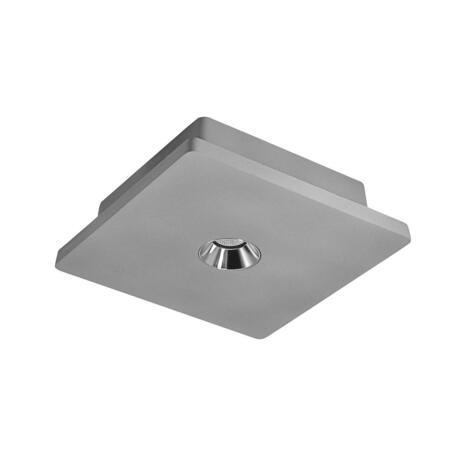 Потолочный светодиодный светильник Loft It Architect OL1072-GH/1, LED 4,2W 3000K 253lm, серый с хромом, бетон