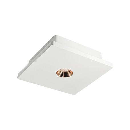 Потолочный светодиодный светильник Loft It Architect OL1072-WG/1, LED 4,2W 3000K 253lm, белый с золотом, гипс