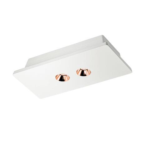 Потолочный светодиодный светильник Loft It Architect OL1072-WG/2, LED 8,4W 3000K