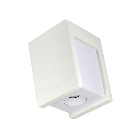 Потолочный светодиодный светильник Loft It Architect OL1073-WW, LED 6W 3000K 260lm, белый, гипс с металлом