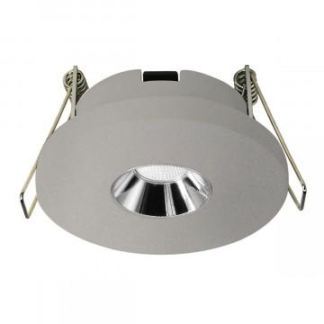Встраиваемый светодиодный светильник Loft It Architect RL1070-GH, LED 4,2W 3000K 253lm, серый с хромом, бетон