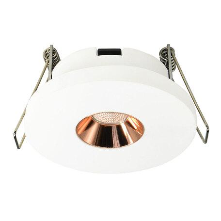 Встраиваемый светодиодный светильник Loft It Architect RL1070-WG, LED 4,2W 3000K 253lm, белый с золотом, гипс