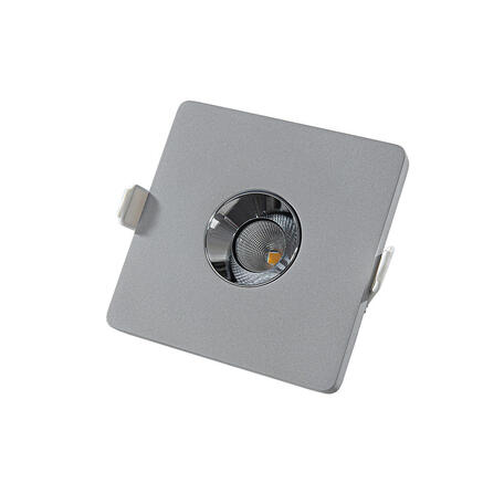 Встраиваемый светодиодный светильник Loft It Architect RL1071-GH, LED 4,2W 3000K 253lm, серый с хромом, бетон