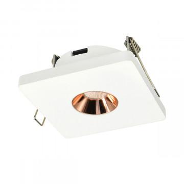 Встраиваемый светодиодный светильник Loft It Architect RL1071-WG, LED 4,2W 3000K 253lm, белый с золотом, гипс