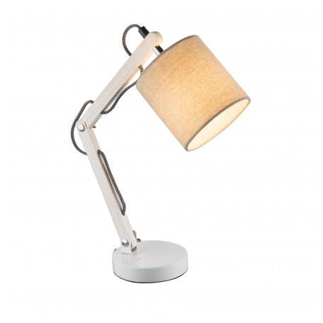 Настольная лампа Globo Mattis 21511, 1xE14x40W, дерево, металл, текстиль