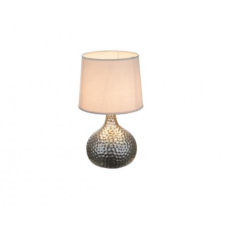 Настольная лампа Globo Soputan 21655, 1xE14x40W, керамика, текстиль