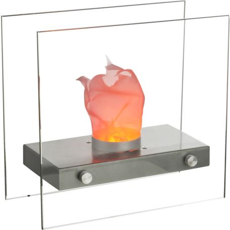 Свеча Globo Fire 93101, металл, стекло