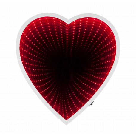 Зеркало со светодиодной подсветкой Globo Romance 84024, LED 1,76W, зеркало, пластик