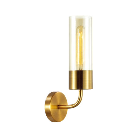 Бра Odeon Light Country Stepi 4659/1W, 1xE27x60W, золото, прозрачный, металл, стекло