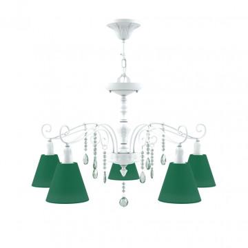 Абажур Maytoni Conical shades LMP-O-29, зеленый, текстиль
