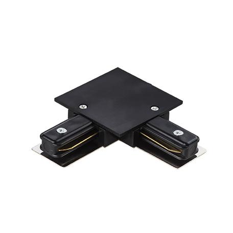 L-образный соединитель для встраиваемого шинопровода Lightstar Barra 501127, черный, пластик