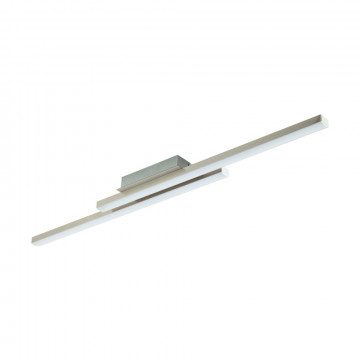 Потолочный светодиодный светильник с пультом ДУ Eglo Connect Fraioli-C 97906, LED 34W 2700-6500K + RGB 2300lm CRI>80, никель, металл, металл с пластиком, пластик